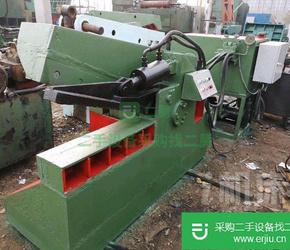 出售二手华宏200吨鳄鱼式剪切机