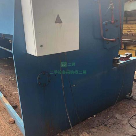 急售二手上海8x6米摆式剪板机7成新超低价