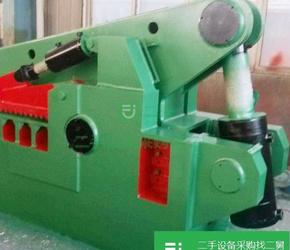 现货转让出售鳄鱼剪切机、龙门剪切机、箱式剪切机、金属打包机