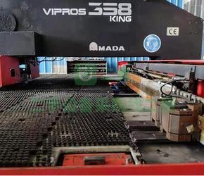 7成新VIPORS 358 king数控冲床日本AMADAVIPORS 358 king广东省广州市