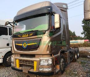 出售二手牵引车17年11月份天龙旗舰520马力高配 支持分期