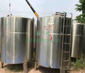 9成新不锈钢储存罐中国制造多种规格山东省-济宁市