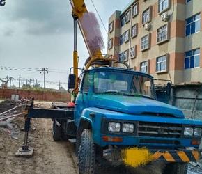 急售8成新吊车泰工8吨山东省东营市