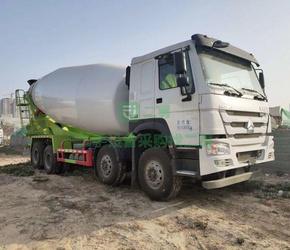 9成新混凝土搅拌罐车豪沃豪沃宏达河北省唐山市