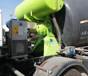 9成新混凝土搅拌罐车德龙轻量化10方罐山西省太原市