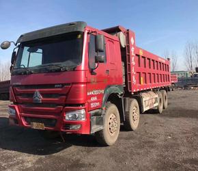 7.8米大箱1.5米高17年8月国五豪沃自卸车转让