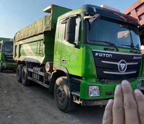 18年11月国五环保渣土车自卸车带电动篷布,潍柴375的12档转让
