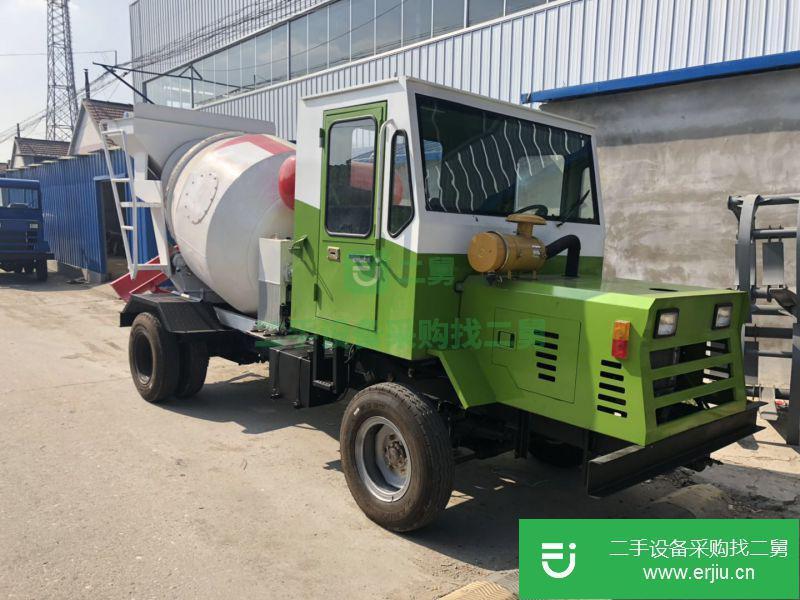 2方混泥土商混罐车 水泥二手搅拌车价格¥7.20万