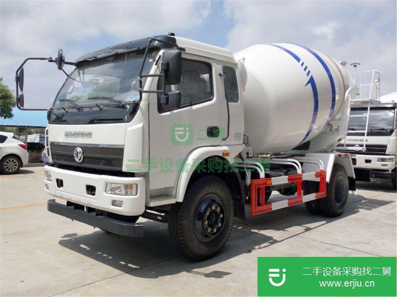 新款小型5方水泥二手搅拌车价格¥17.50万