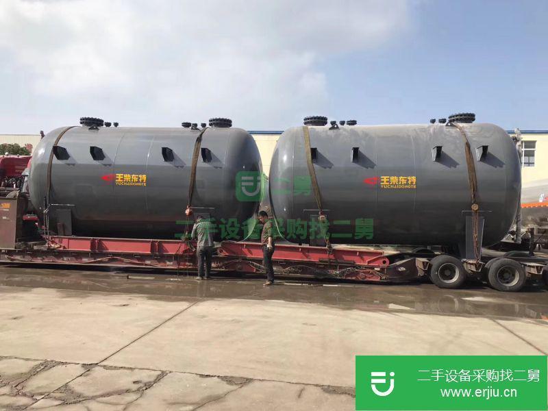 次氯酸钠钢衬塑化工二手储罐价格¥9.50万